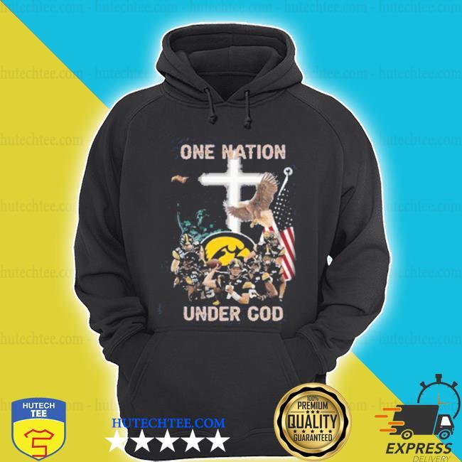 Statue of Liberty American Iowa Hawkeyes one nation under God shirt