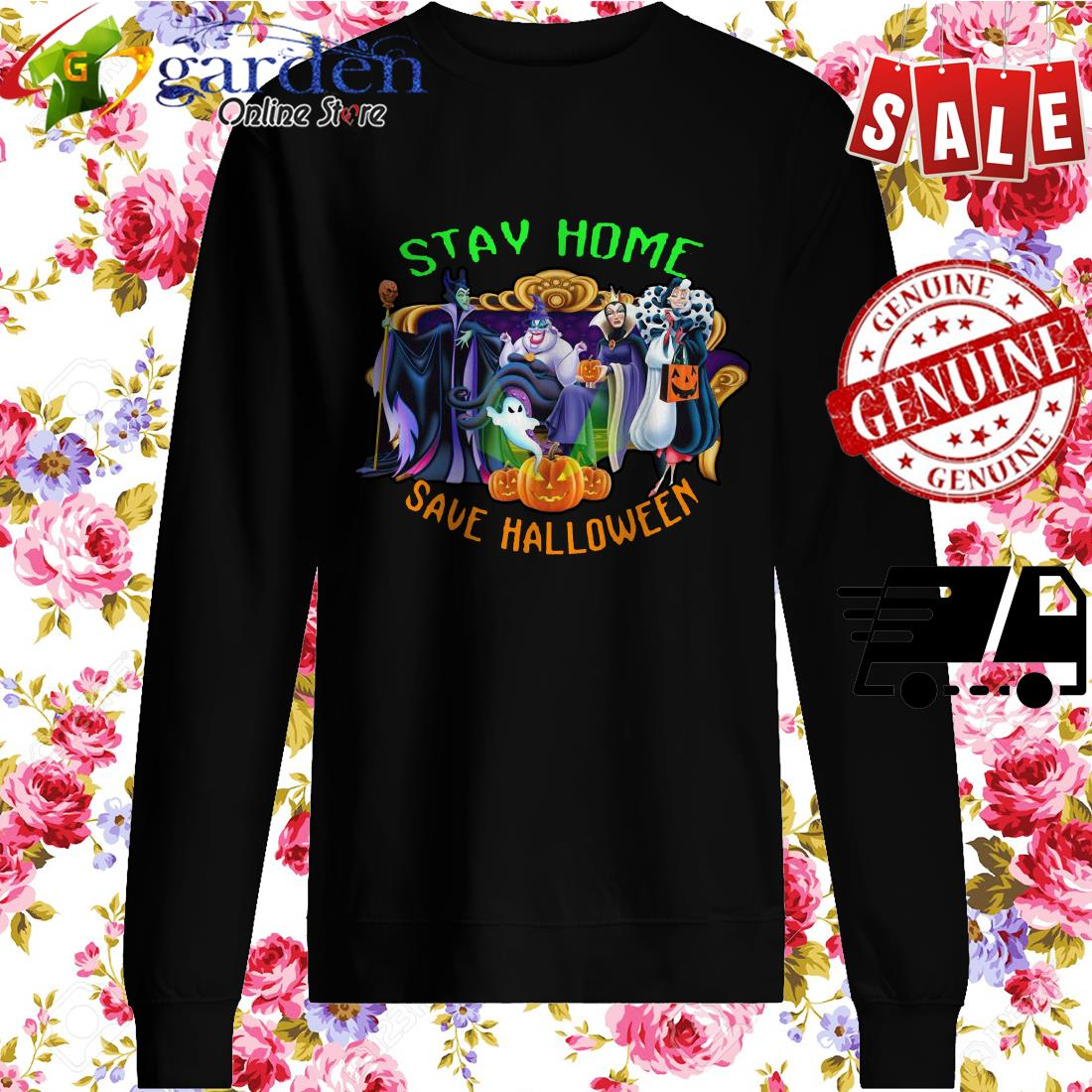 Stay home save Halloween sweater