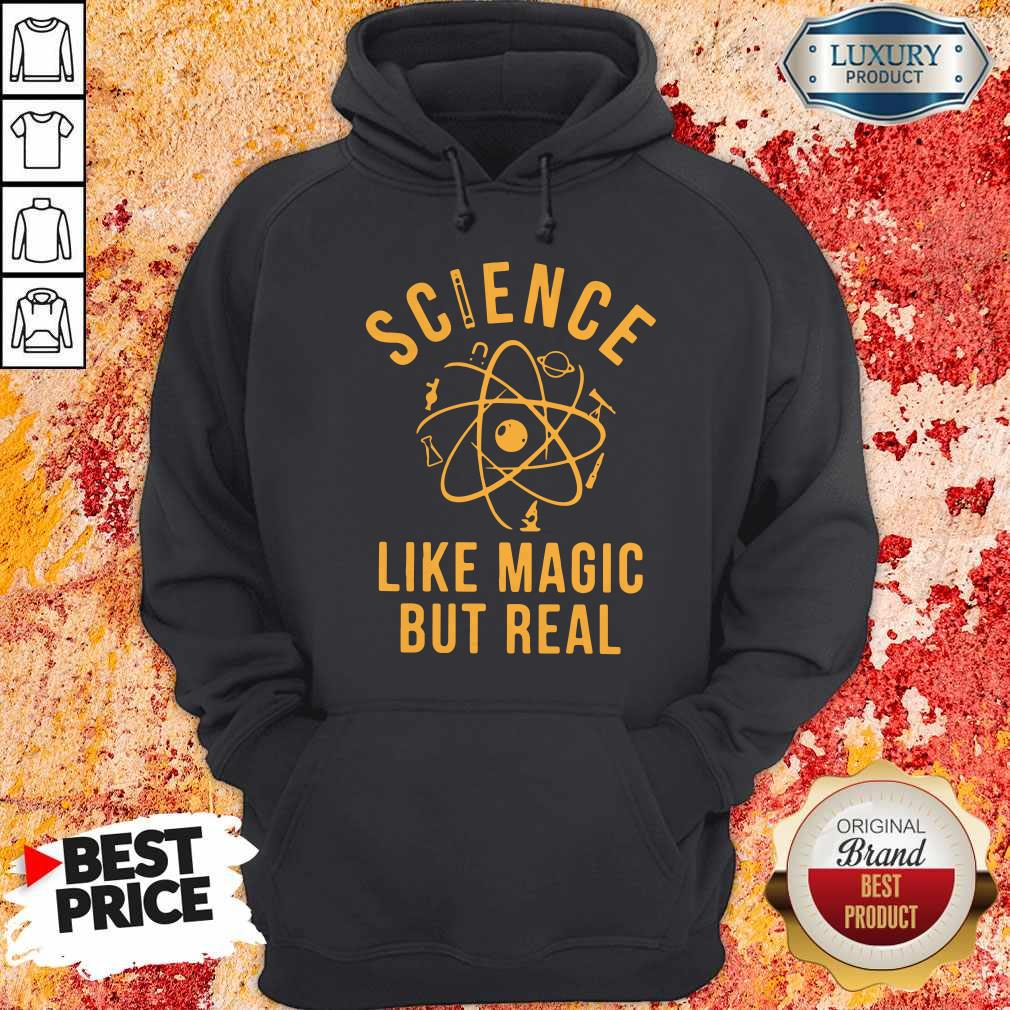 Supper Science Like Magic But Real Hoodie