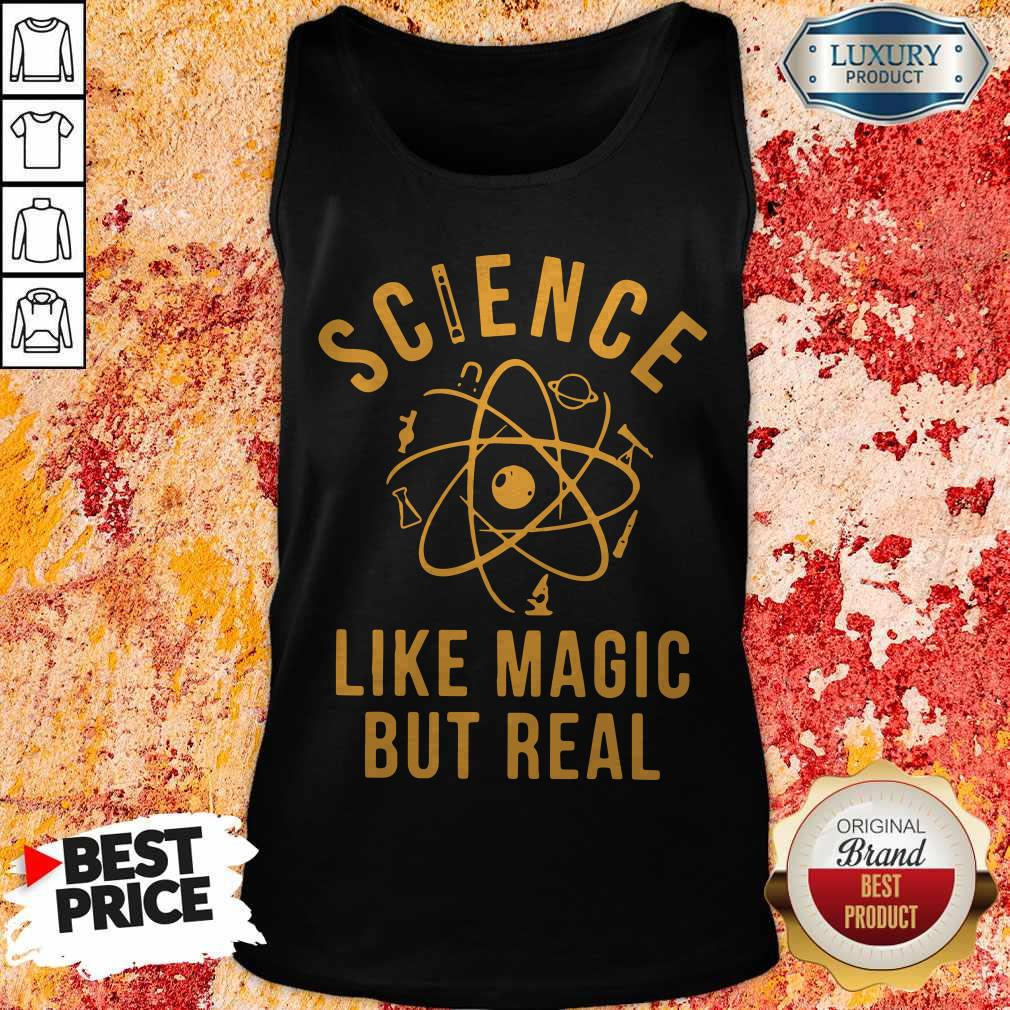 Supper Science Like Magic But Real Tank Top