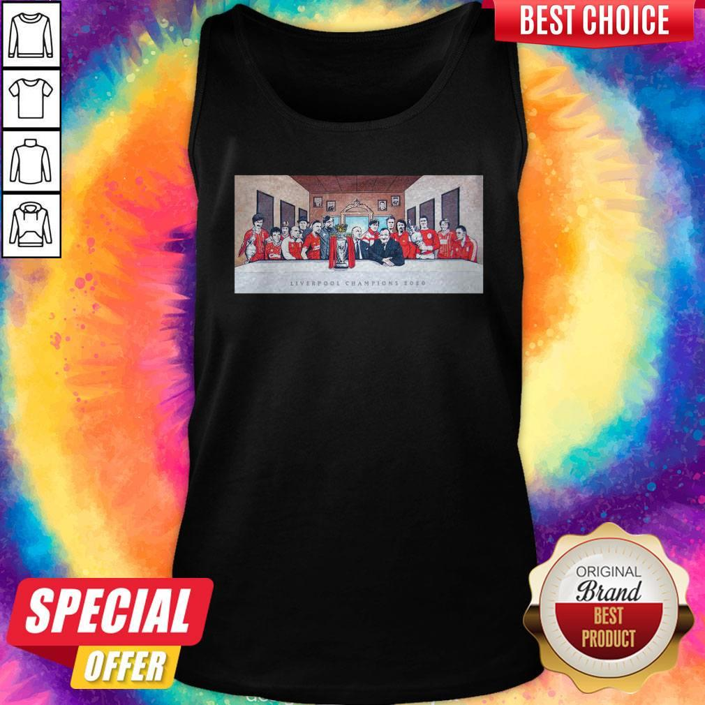 Sweet Liverpool Champion 2020 All Players Tank Top