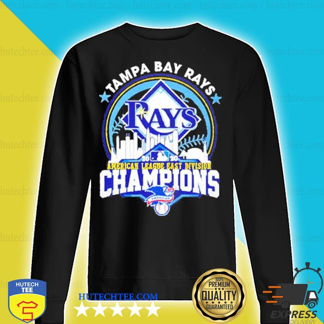 Tampa bay rays american league east division champion us 2020 s sweater
