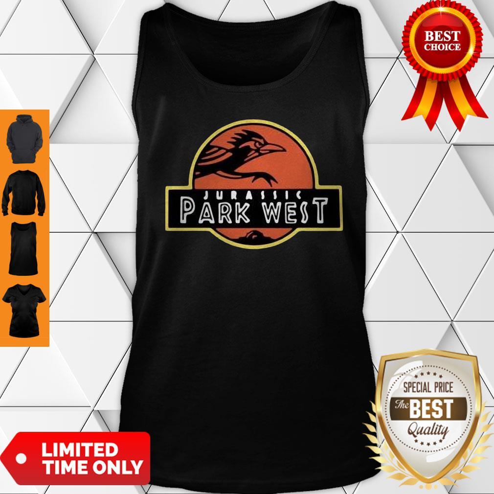 Official Jurassic Park West Utsa Athletics Tank Top