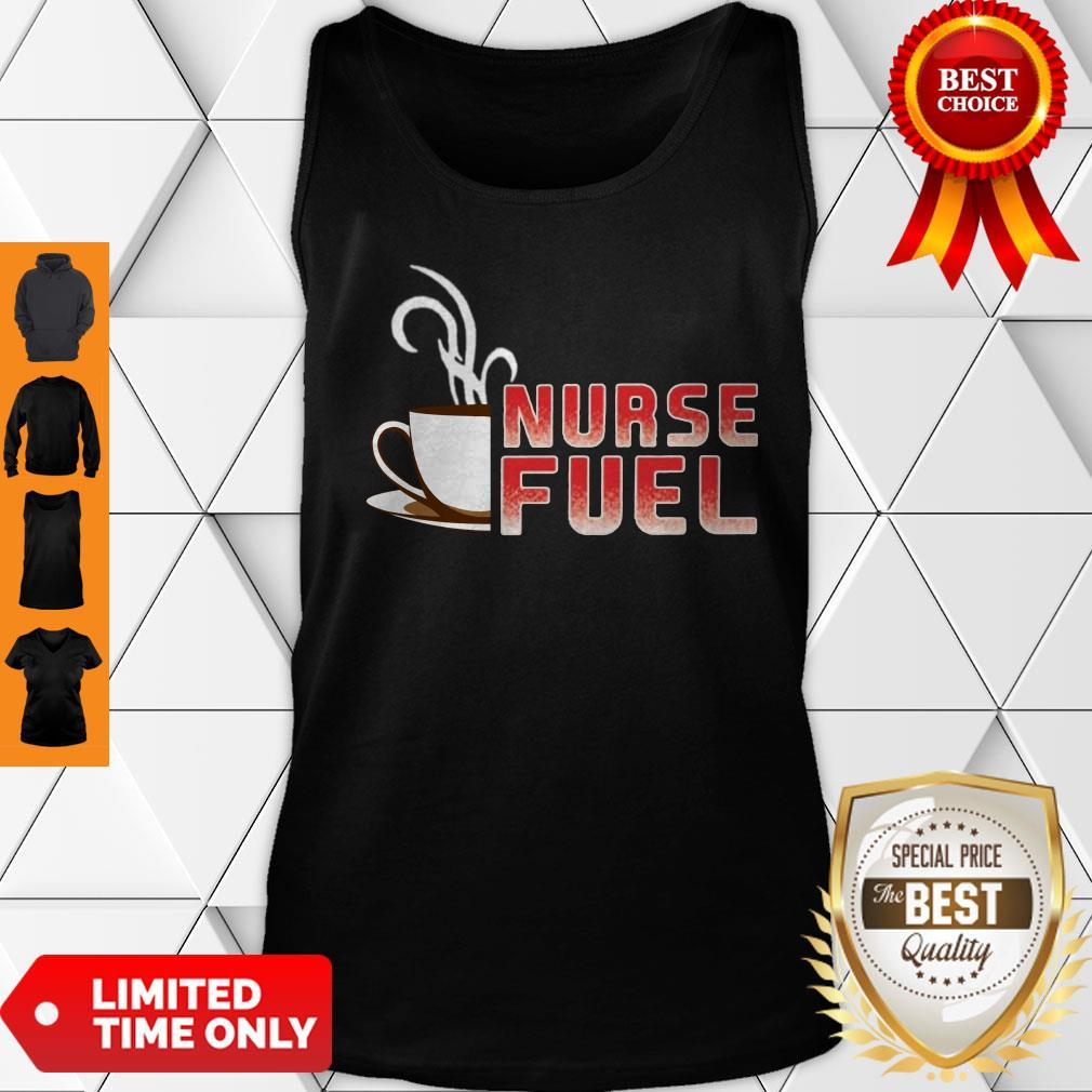 Official Nurse Fuel Coffee Tank Top