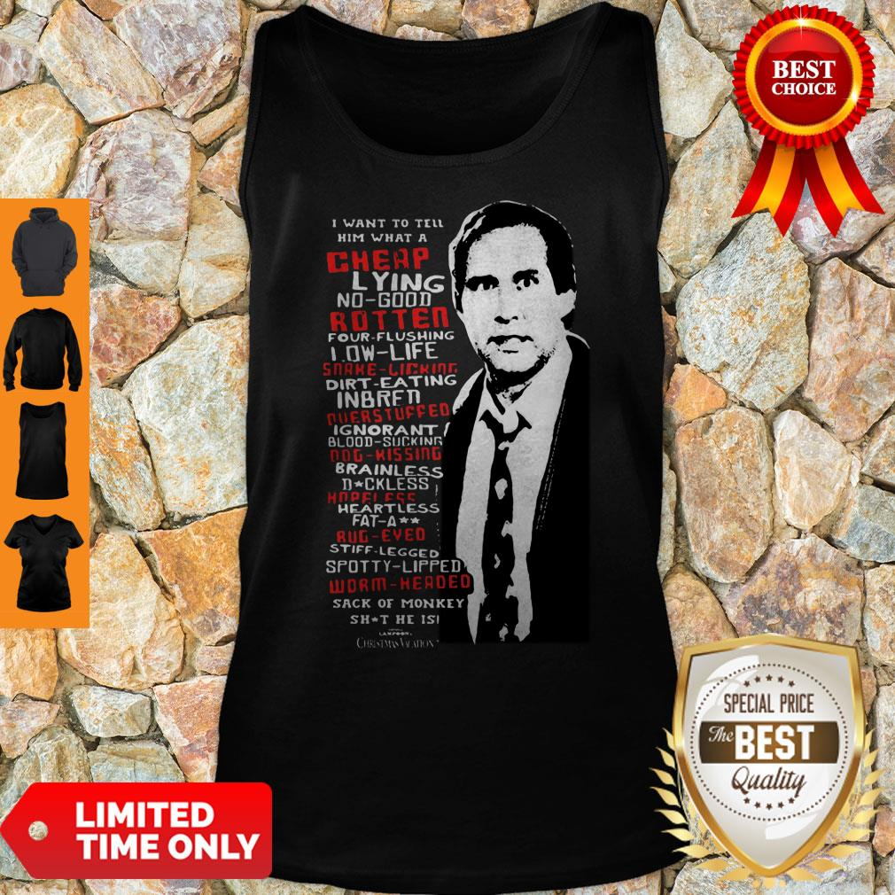 Premium Clark Griswold Rant Christmas Vacation Tank Top
