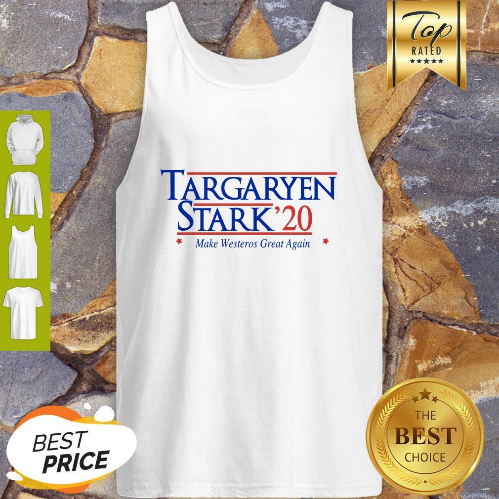 Targaryen Stark 20 Make Westeros Great Again Tank Top