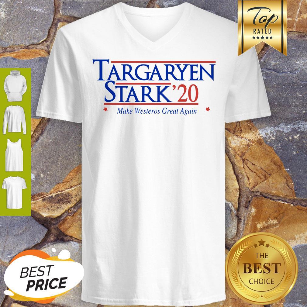 Targaryen Stark 20 Make Westeros Great Again V-neck