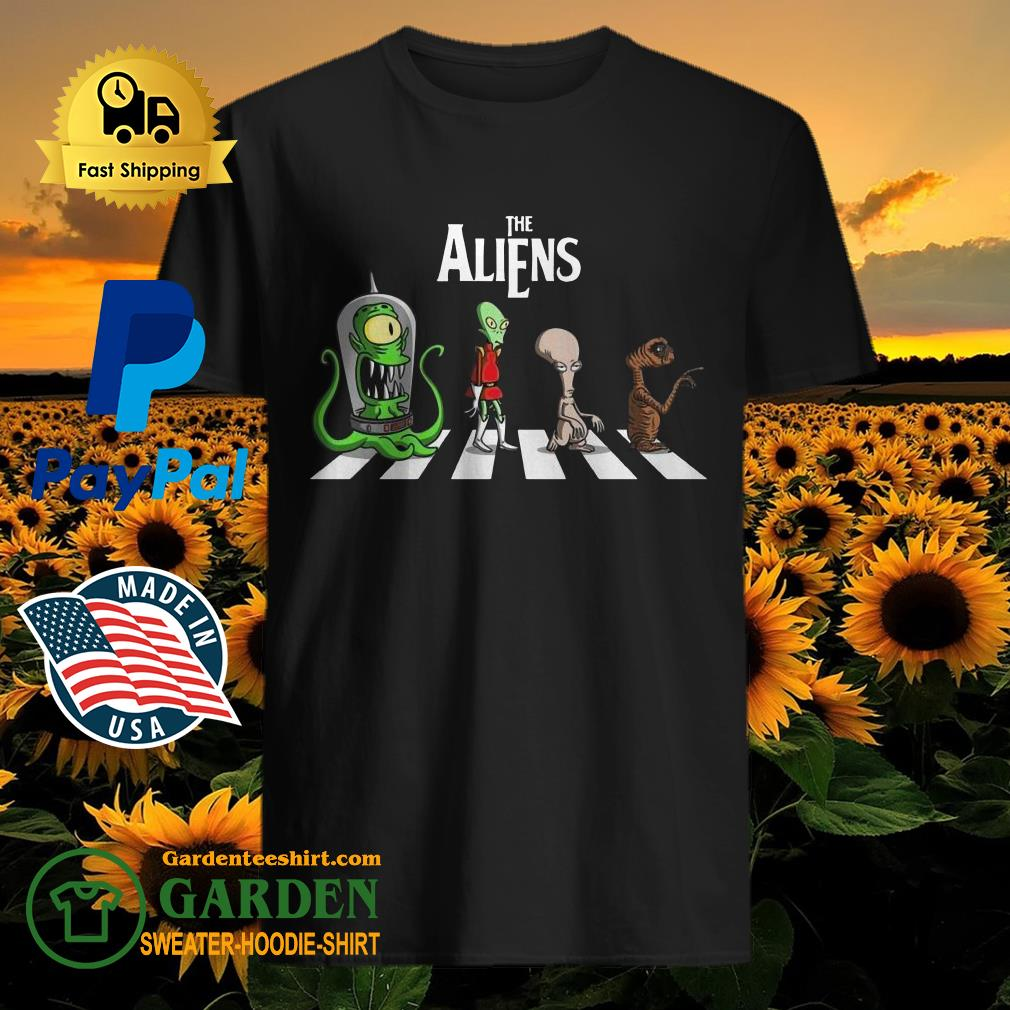 The Aliens Abbey Road shirt