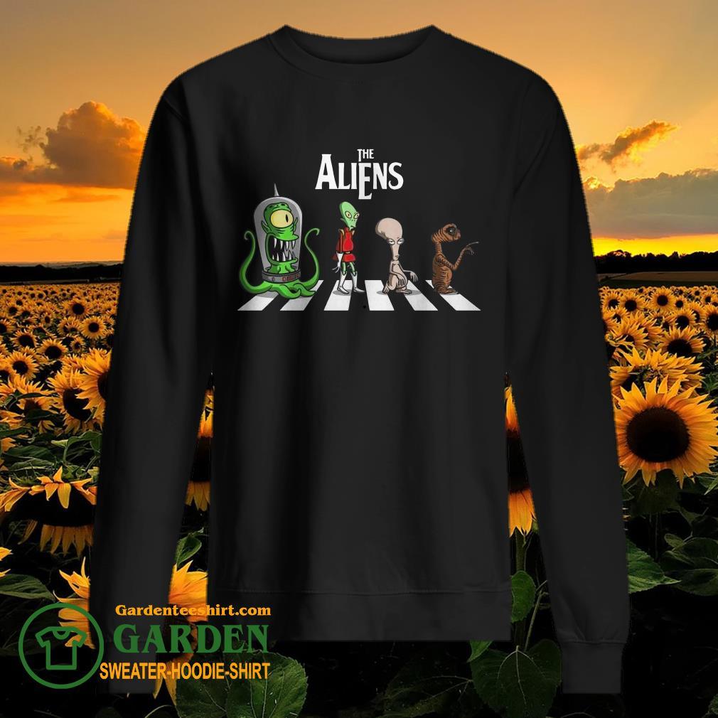 The Aliens Abbey Road sweater