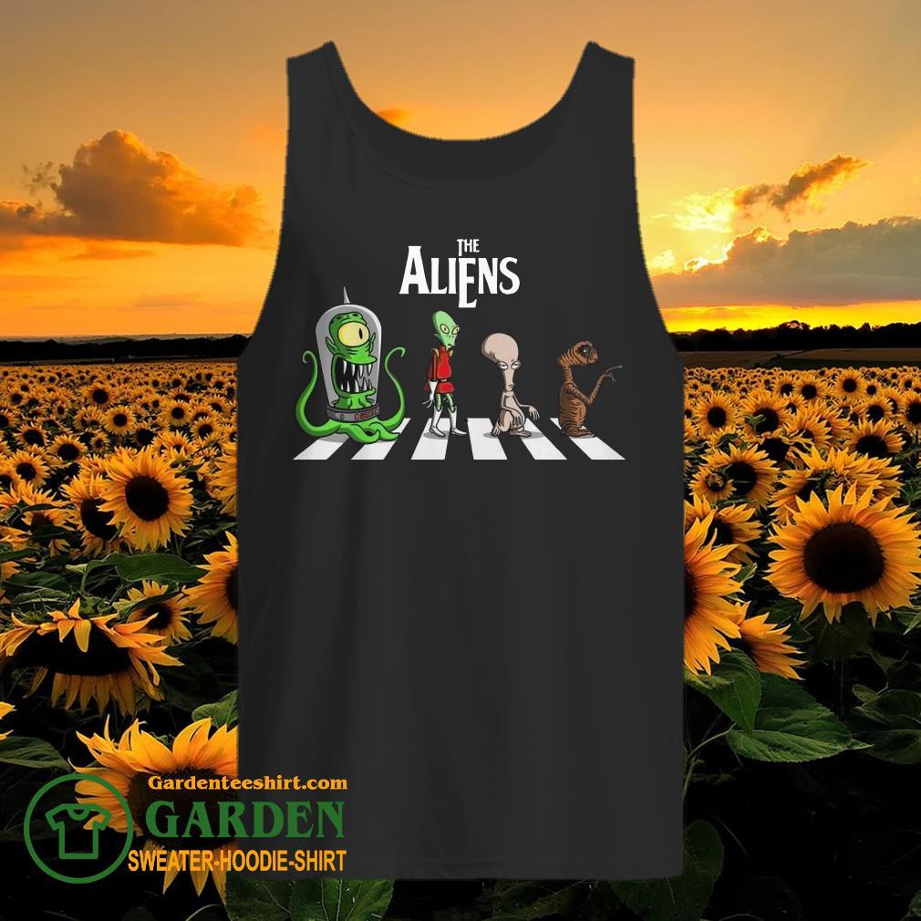 The Aliens Abbey Road tank top