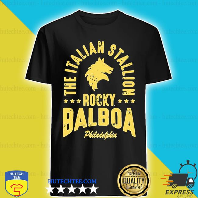 The italian stallion rocky balboa philadelphia stars shirt