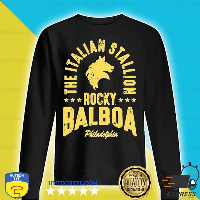 The italian stallion rocky balboa philadelphia stars s sweater