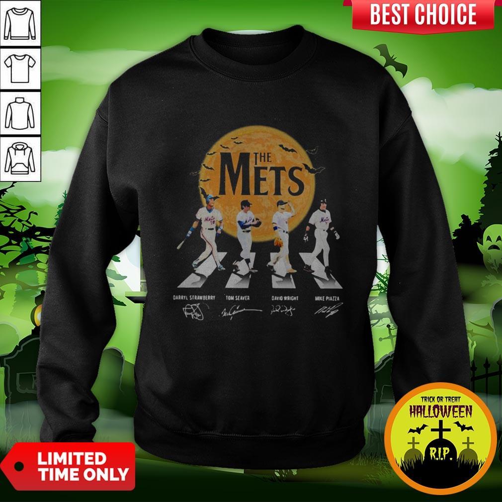 The Mets Halloween Abbey Road Signature Sweatshirt