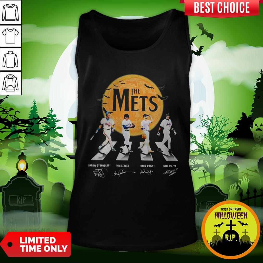 The Mets Halloween Abbey Road Signature Tank Top