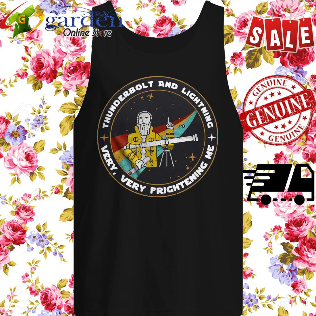 Thunderbolt And Lightning Very Very Frightening Me tank top
