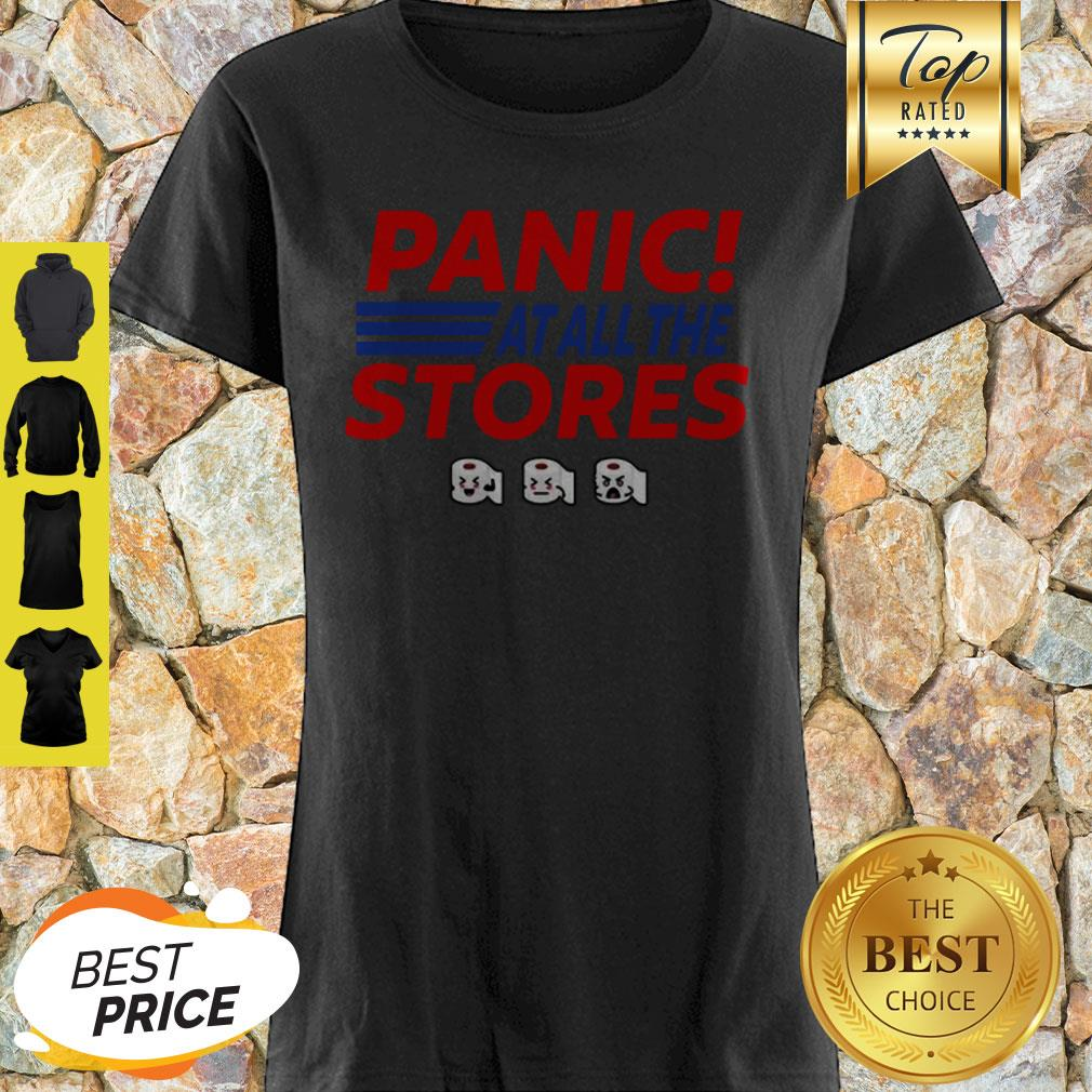 Toilet Paper Panic At All The Stores Covid-19 Shirt