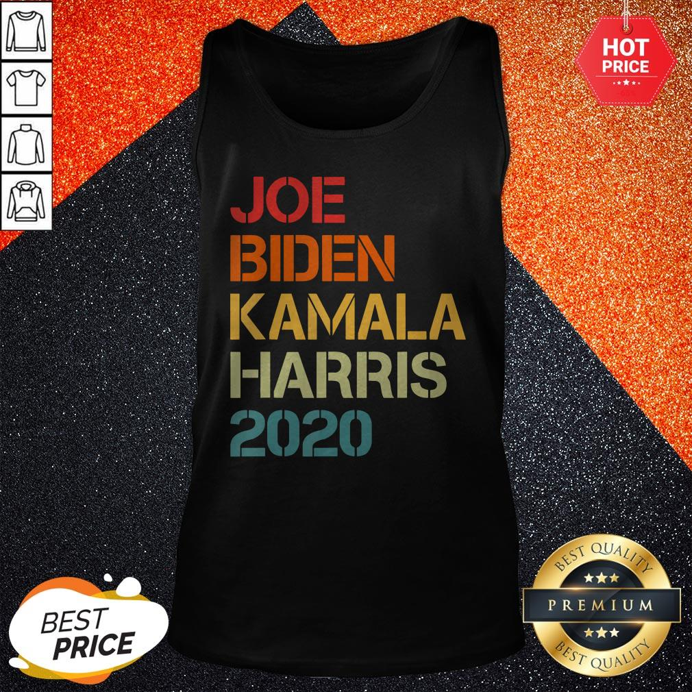 Vip l Joe Biden Kamala Harris 2020 Vintage Tank Top