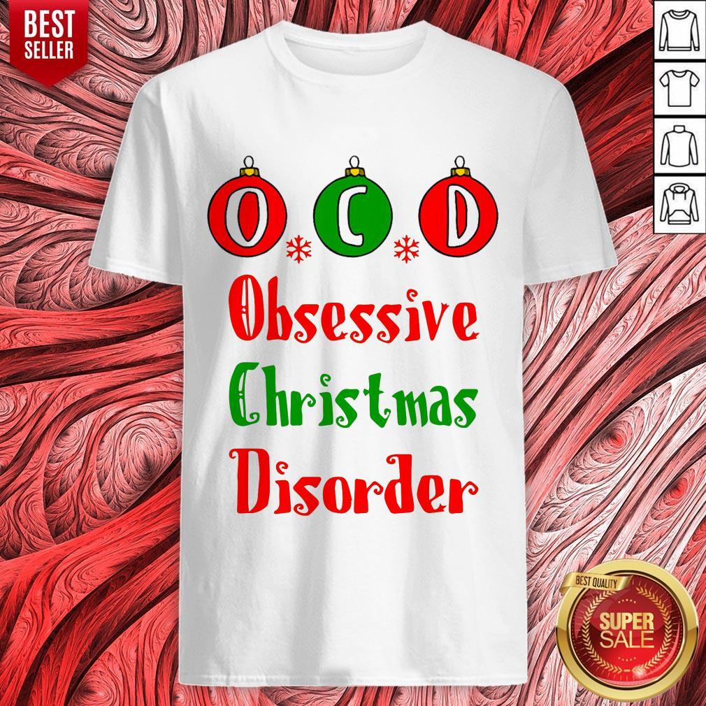 Vip Obsessive Christmas Disorder Shirt