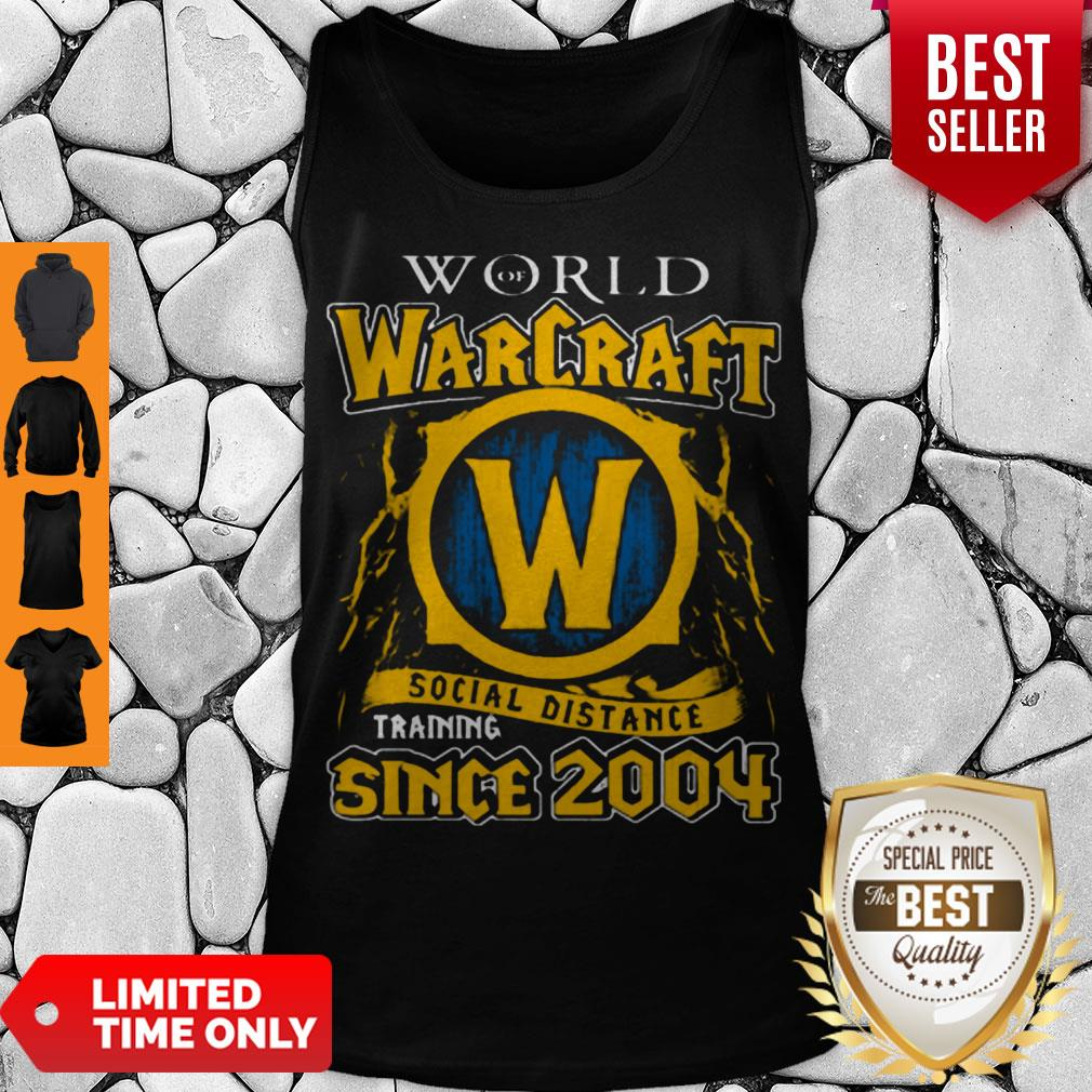 World Of Warcraft Social Distance Training Since 2004 COVID-19 Tank Top