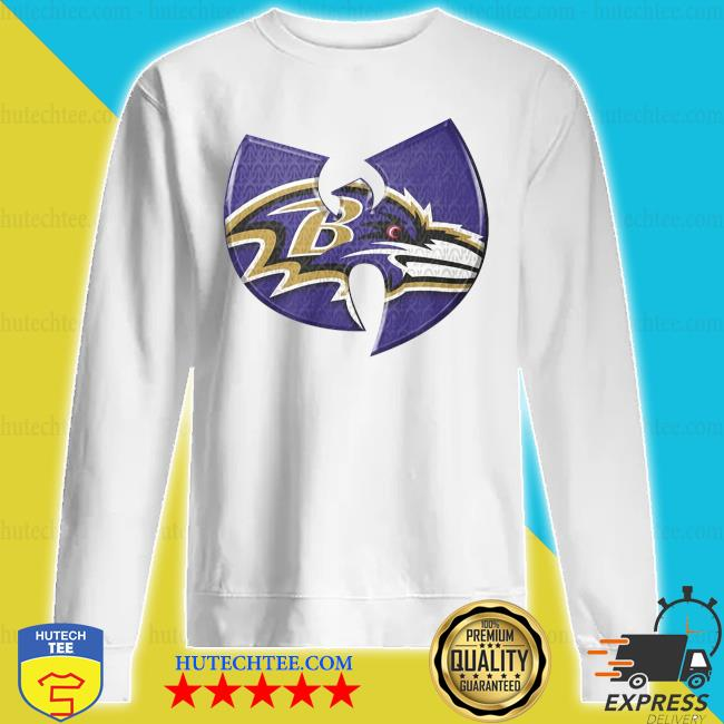 Wu Tang Baltimore Ravens s sweatshirt