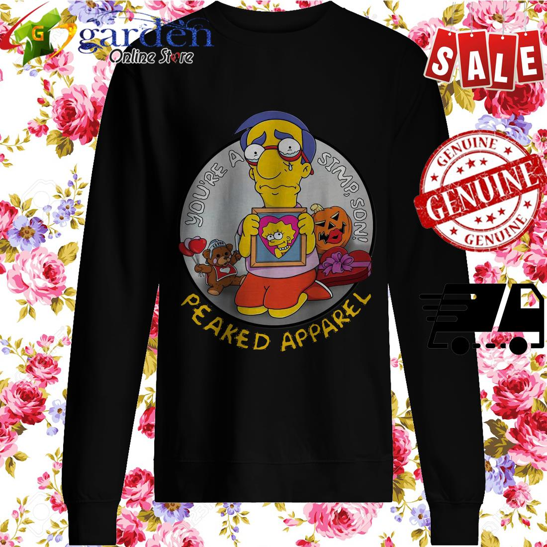 You're A Simpson Peaked Apparel sweater