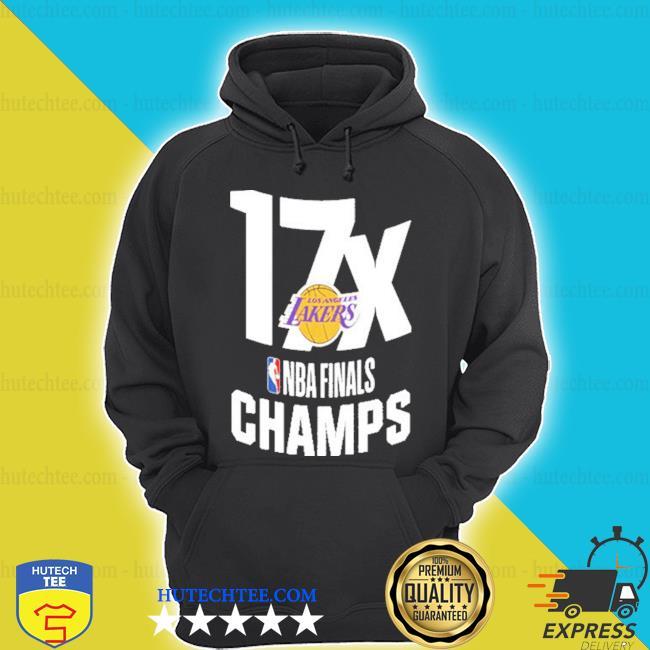 17x los angeles lakers nba finals champions shirt