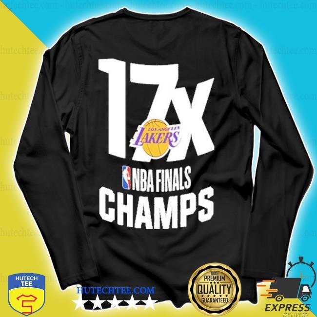 17x los angeles lakers nba finals champions s longsleeve
