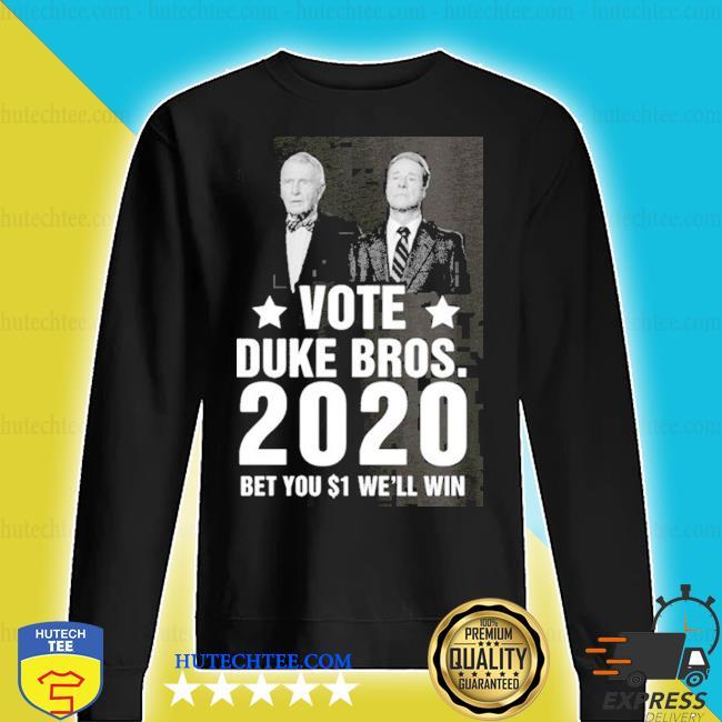 2020 randolph and mortimer duke vote duke bros s sweater