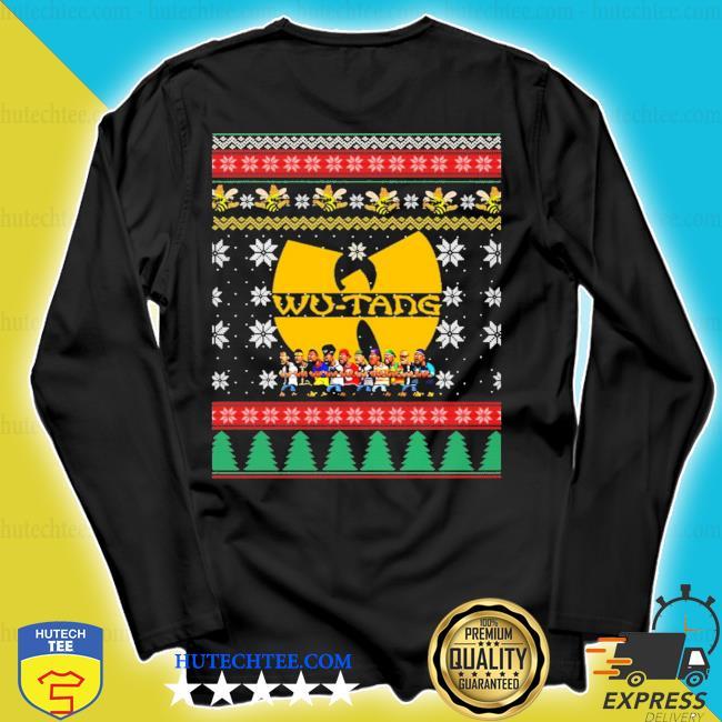 2020 Wu tang ugly christmas sweater longsleeve