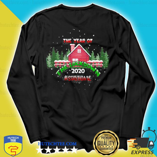 2020 year of the lockdown decorative ugly christmas sweater longsleeve