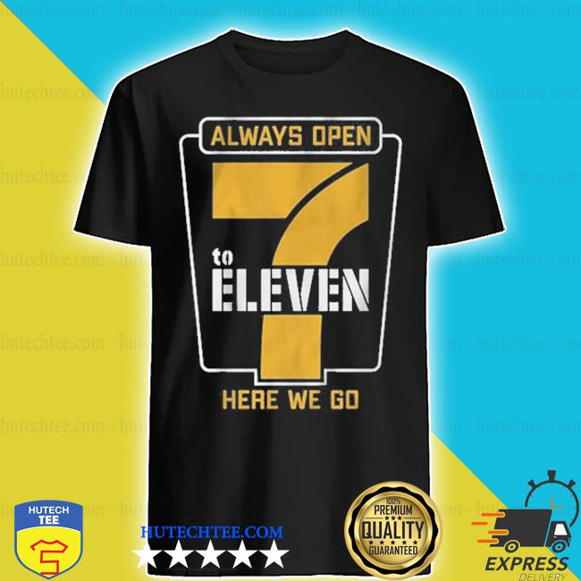 7 to eleven pittsburgh football s shirt