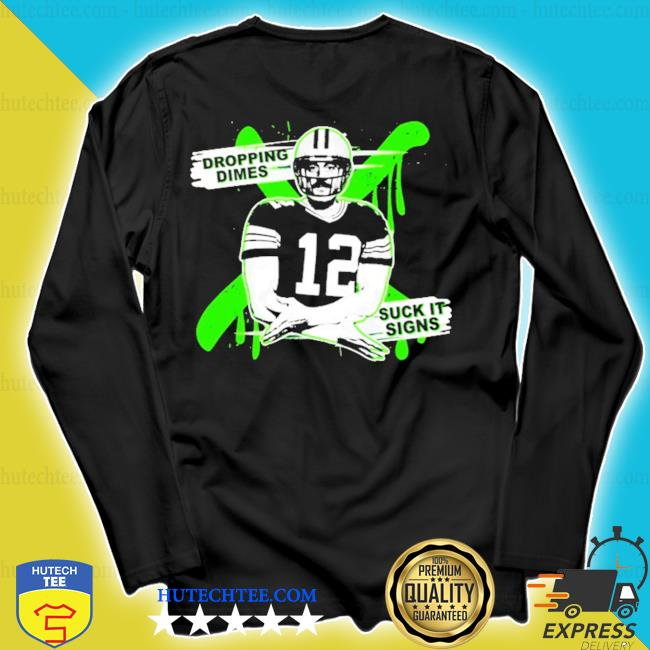 Aaron rodgers dropping dimes s longsleeve