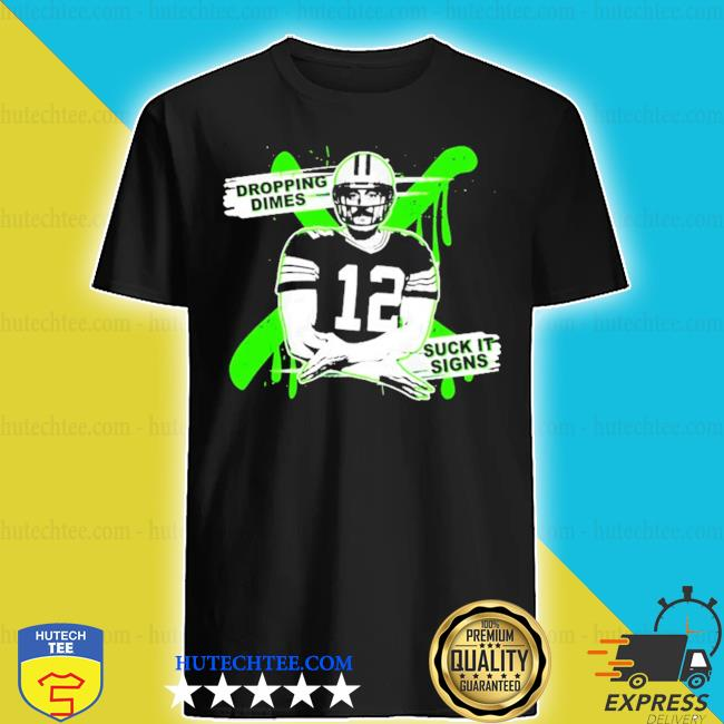 Aaron rodgers dropping dimes s shirt