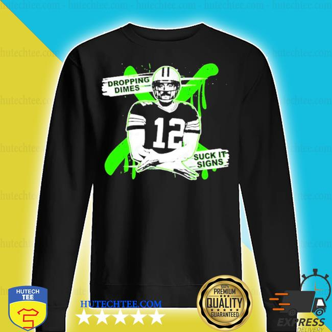 Aaron rodgers dropping dimes s sweater