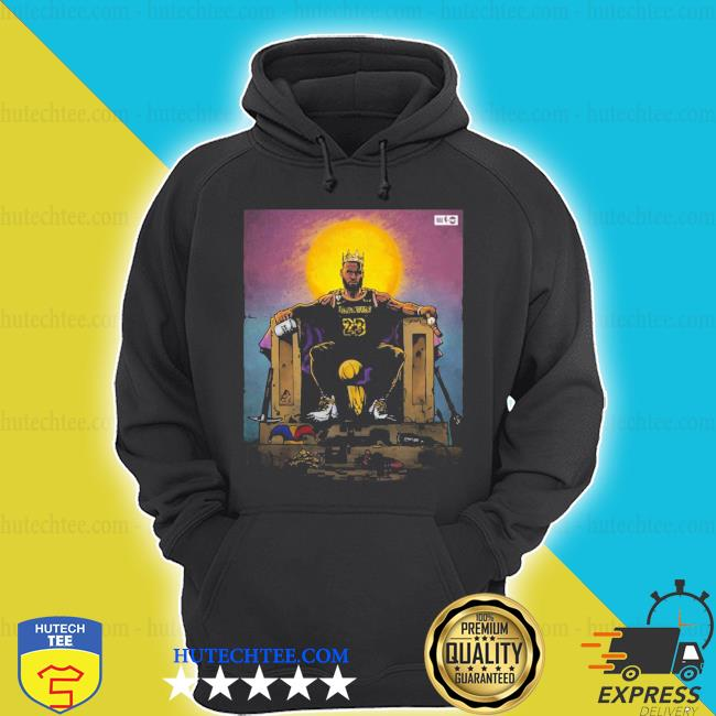 All hail the king lebron james s hoodie