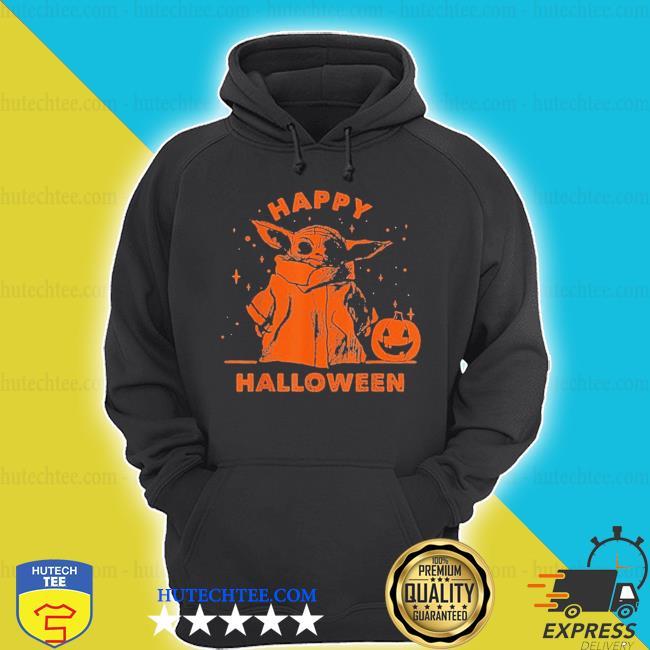 Baby yoda star wars the mandalorian the child happy halloween s hoodie