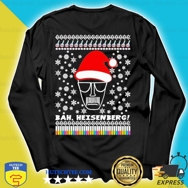 Bah heisenberg humbug walter ugly christmas s longsleeve
