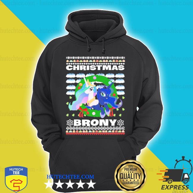 Christmas Brony Ugly Christmas shirt