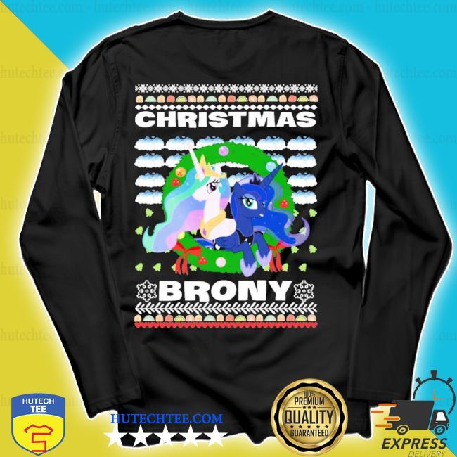 Christmas Brony Ugly Christmas s longsleeve