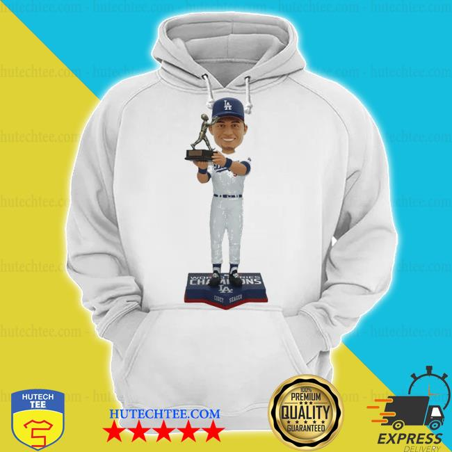Corey seager for los angeles dodgers 2020 world series champions mvp s hoodie