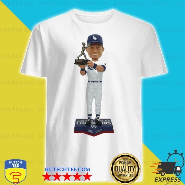 Corey seager for los angeles dodgers 2020 world series champions mvp shirt