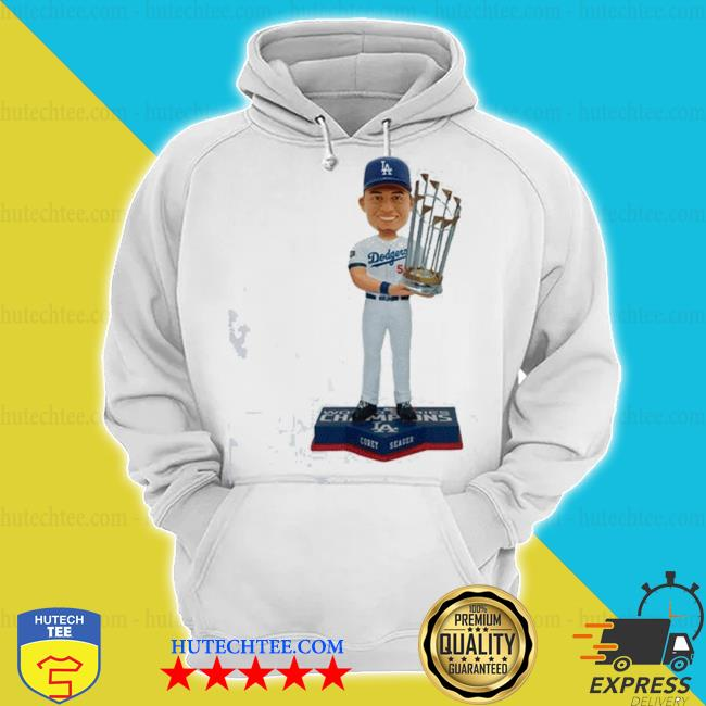 Corey Seager Los angeles dodgers 2020 world series champions s hoodie