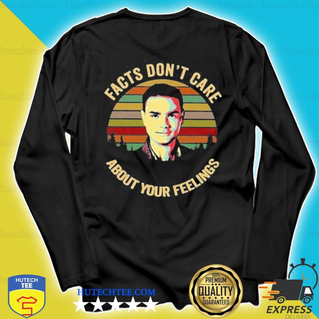 Facts don't care about your feelings ben shapiro vintage sunset s longsleeve