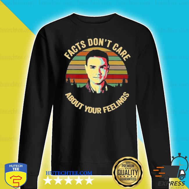 Facts don't care about your feelings ben shapiro vintage sunset s sweater