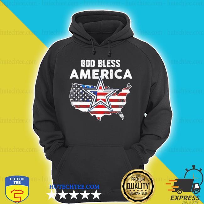 God save america flag dallas cowboys s hoodie