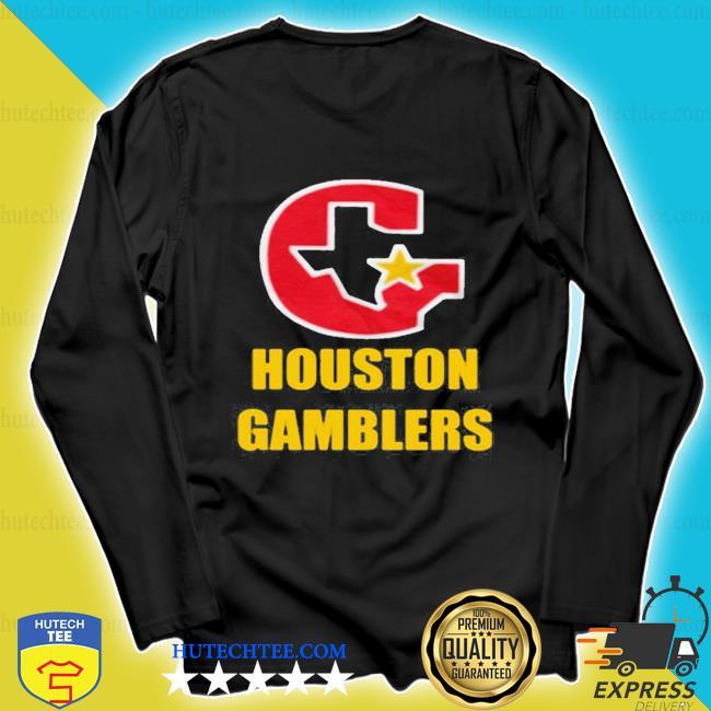 Houston gamblers 2020 s longsleeve