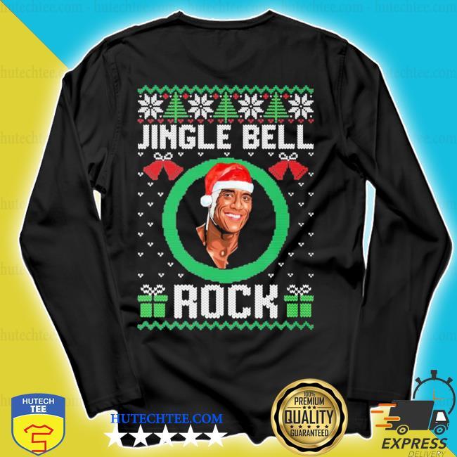 Jingle bell rock ugly christmas sweater longsleeve