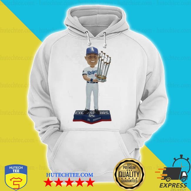 Joc Pederson Los angeles dodgers 2020 world series champions s hoodie