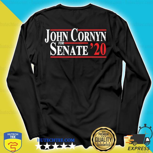 John cornyn for senate 2020 s longsleeve