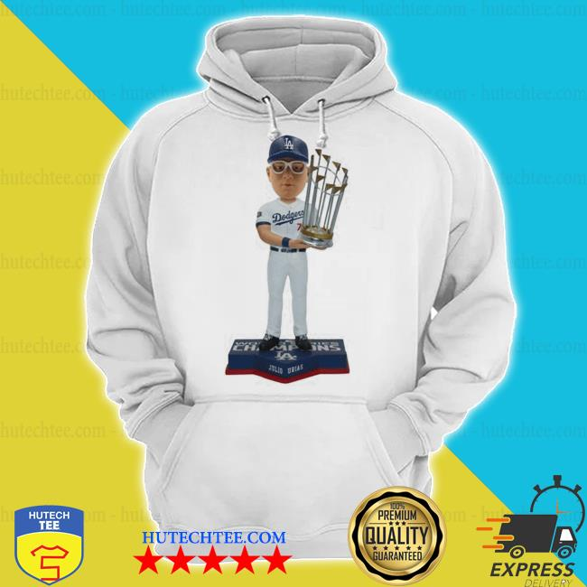 Julio Urias los angeles dodgers 2020 world series champions s hoodie